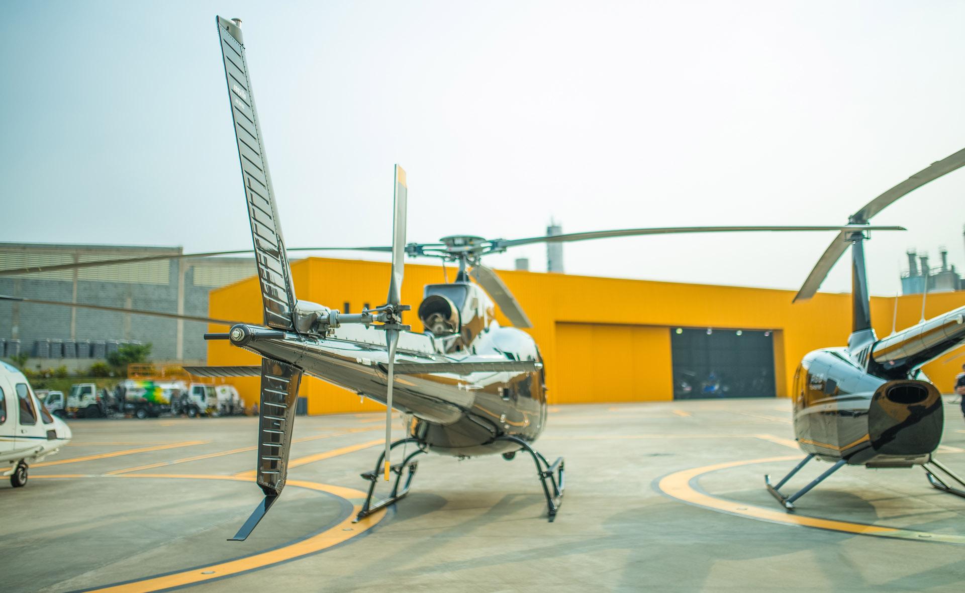 Serviços aéreos especializados